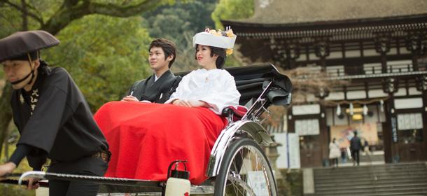 松尾大社の結婚式