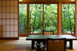 常盤の間 京都嵐山旅館辨慶(ベンケイ)